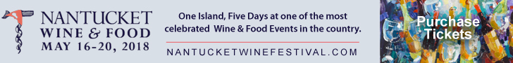2018 Nantucket Wine Festival Banner