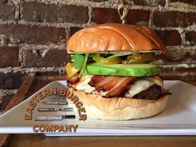 Eastern Burger Badge ad