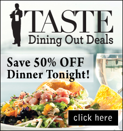 Taste Dining Out Deals - Block