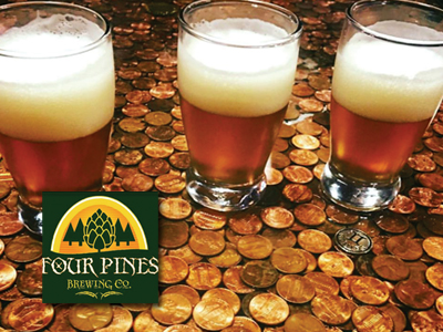 Four Pines Brewery badge