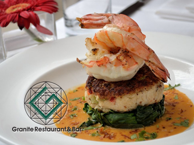Granite Restaurant badge ad