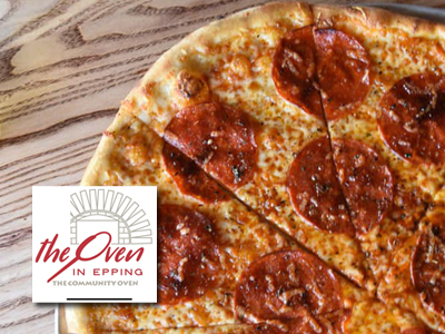 The Oven Epping badge ad