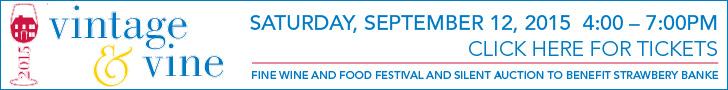 Vintage & Vine Festival Sept 12, 2015