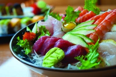 Chirashi Deluxe, Sake Japanese Restaurant