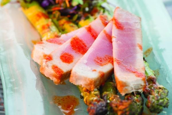 Seared Tuna, Dockside Restaurant