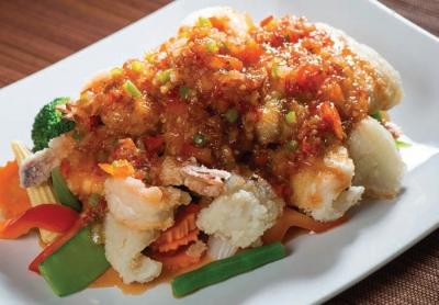 Three Flavored Seafood