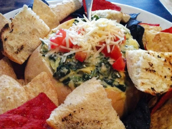Christopher's Third Street Grille's Spinach Artichoke Dip
